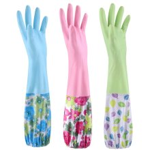 Cleaning Gloves Washing Gloves Thick Household Gloves /Set Of  3