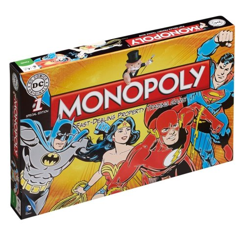 Dc Comics Monopoly Game
