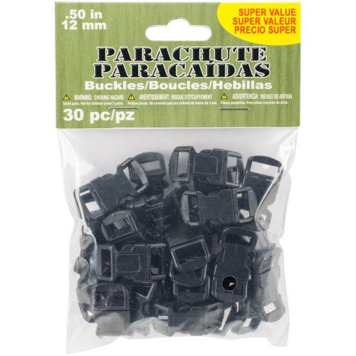 Parachute Cord Buckles 12mm 30/Pkg-