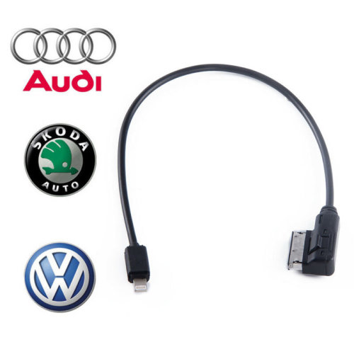 35CM VW Audi AMI MDI MMI Charging Cable for iPod iPhone 5 5S 6 6s 7 7s 8