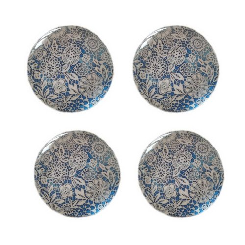 Set of 4 Chinese Style Fridge Magnets Creative Home Decor Magnets