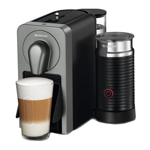 Krups XN411T40 Automatic Smart Coffee Maker Machine Espresso Pod Aeroccino Black