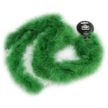 "Zucker Marabou Feather Boa Solid Color Medium Weight 72""-Kelly Green"