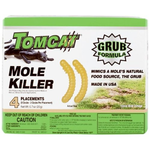 Tomcat 34350 Mole Killer, Count - 4