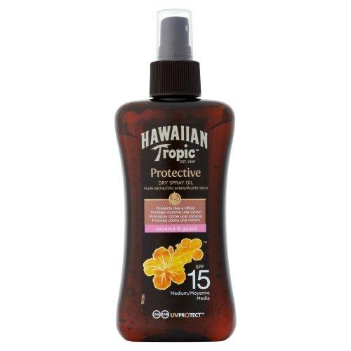 Hawaiian Tropic SPF15 Protective Dry Spray Oil
