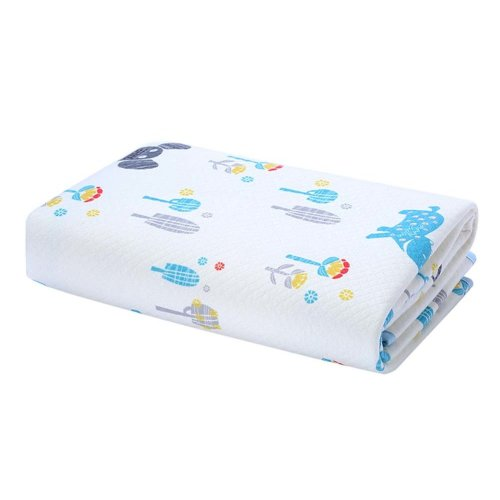 Portable Waterproof Baby Diaper Changing Pads Diaper Liners 2 pieces, 40x50cm, NO.001