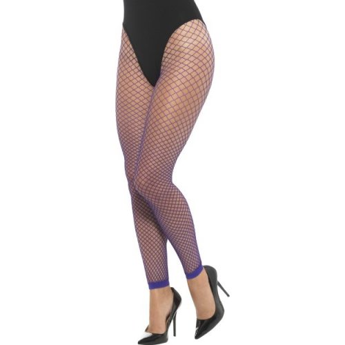 Smiffy's 48096 Footless Net Tights (one Size) -