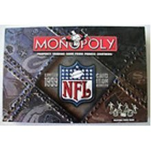 Monopoly NFL Limted 1999 Grid Iron Edition