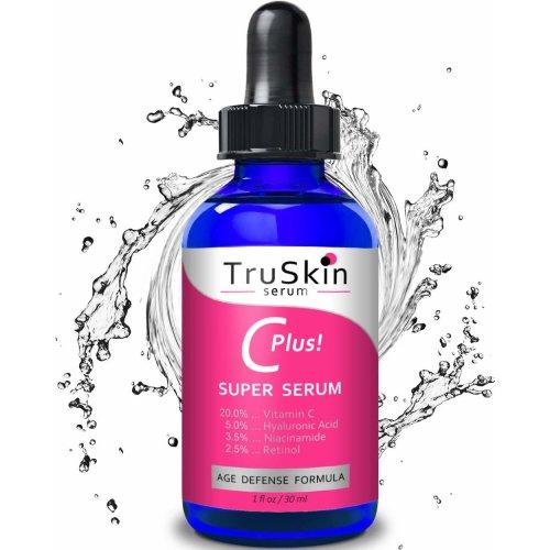 TruSkin, Vitamin C-Plus Super Serum, Anti Aging Anti-Wrinkle, 1 oz