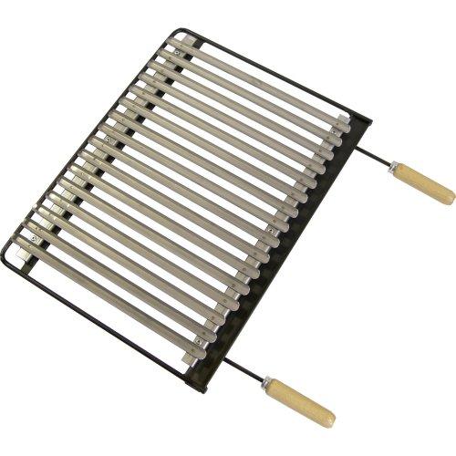 IMEX EL ZORRO 71636 -BBQ Grill, Stainless Steel, 62x 41cm