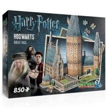 Wrebbit Hogwarts Great Hall 3d Jigsaw Puzzle (850 Pieces)