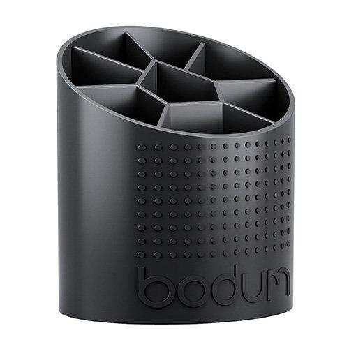 Bodum 1-Piece Plastic Bistro Utensil Holder, Black