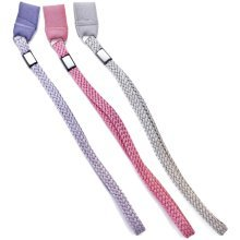 Classic Canes Three Pastel Coloured Walking Stick Wrist Straps/Wrist Loops