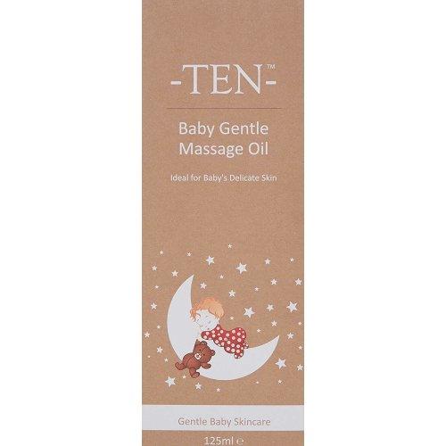 TEN Baby Gentle Massage Oil, 125ml