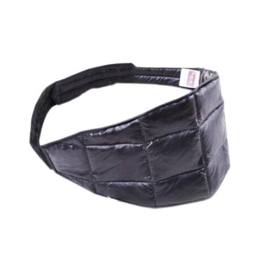 DOWN Waist Belt Light Keep Your WAIST/STOMACH/TUMMY Warm BLACK
