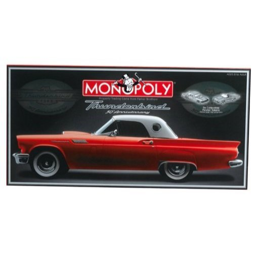 Ford Thunderbird 50th Anniversary Monopoly