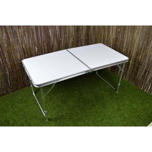120cm x 60cm x 70cm Folding Camping Table with Carry Handle