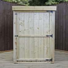 3x3 Premium Pressure Treated Storage Unit