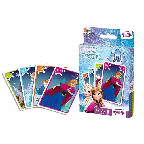 Shuffle Fun 4 in 1 Frozen Card Game