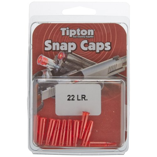 Tipton  22 LR Rifle  Outdoor Snap Cap available in Transparent -