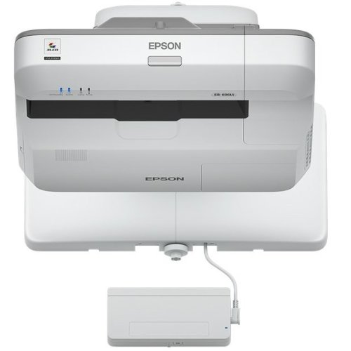 Epson EB-696Ui Wall-mounted projector 3800ANSI lumens 3LCD WUXGA (1920x1200) Grey,White data projector