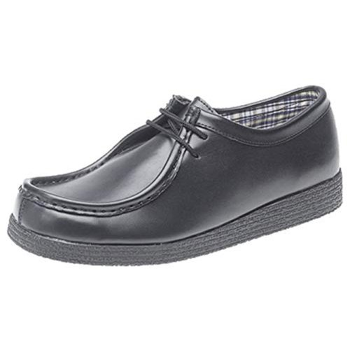 Route 21 Boys School Shoes Black 1 UK Child