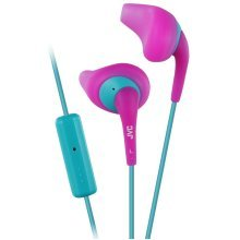 JVC Gumy Sport In Ear Headphones with Remote and Microphone - Pink (HAENR15P)