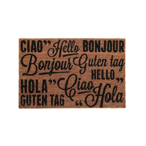 """""""Greetings"""" Coir Doormat"""
