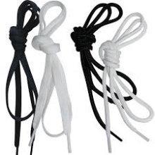 100cm Black Flat Trainer Laces - Precision Training Bnib Sports -  laces flat precision training black 100cm bnib sports