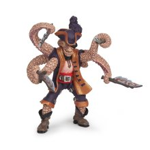 Papo Octopus Mutant Pirate Figure - 39464 Pirates -  papo octopus mutant pirate 39464 figure pirates