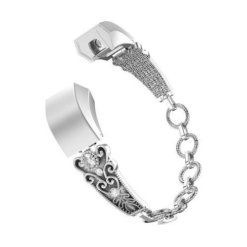 Chofit Metal Straps for Alta / Alta HR,Replacement Elegant Women Wristband  for Fitbit Alta / Alta HR (Retro)