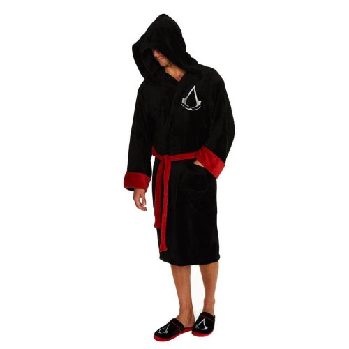 Assassin s Creed Adult Logo Black Dressing Gown on OnBuy b5f11d8d1
