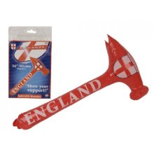 "36"" England Inflatable Hammer - Football 36 St Georges Day Basher Rugby Gift -  inflatable hammer england football 36 st georges day basher rugby"