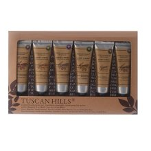 Tuscan Hills 6 Scented Hand Cream Boxed Set