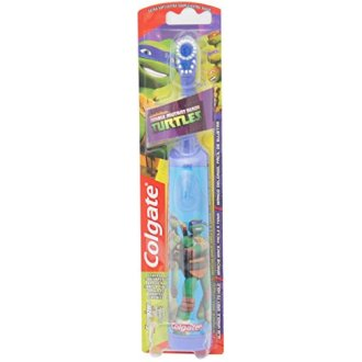 Colgate Kids Power Toothbrush, Teenage Mutant Ninja Turtles, Extra Soft, Color And Design May Vary.