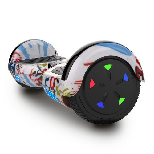 Right Choice WJ5 Hoverboard Self Balanced Electric Scooter - built in Bluetooth Speakers - LED Wheel