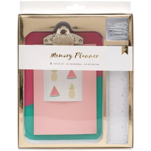 American Crafts Memory Planner Office Kit-