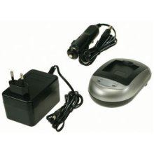 2-Power DBC9050A Auto/Indoor battery charger Black,Silver battery charger