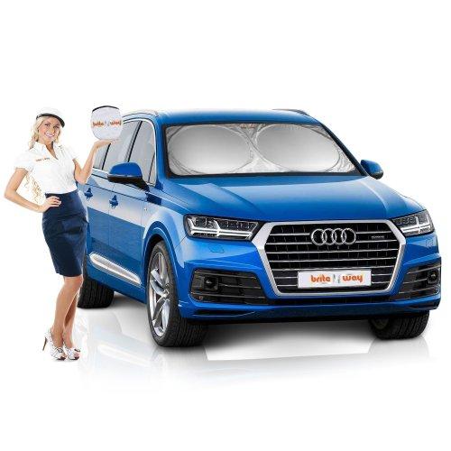 Car Sun Shade - Drastically Reduces Dashboard and Interior Temperatures