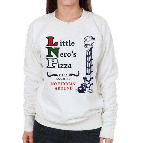 Little Neros Pizza Home Alone Women's Sweatshirt