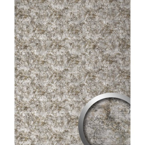WallFace 17275 DECO VINTAGE Wall panel self-adhesive Metal-rust silver 2.6 sqm