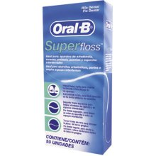 1 x Oral -B Super Floss 50 PRE-CUT STRANDS, Dental Floss