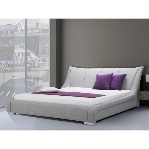 Upholstered Bed - King Size incl. stable slatted frame - NANTES
