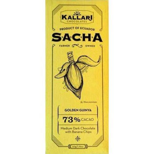 Kallari Sacha Dark chocolate with banana chips