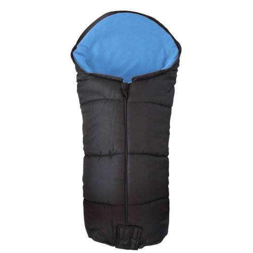 Deluxe Footmuff / Cosy Toes Compatible with Maclaren Globetrotter Pushchair Blue