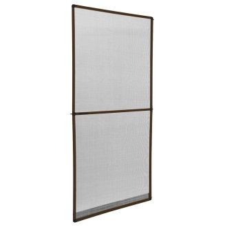 Fly screen for door frame brown