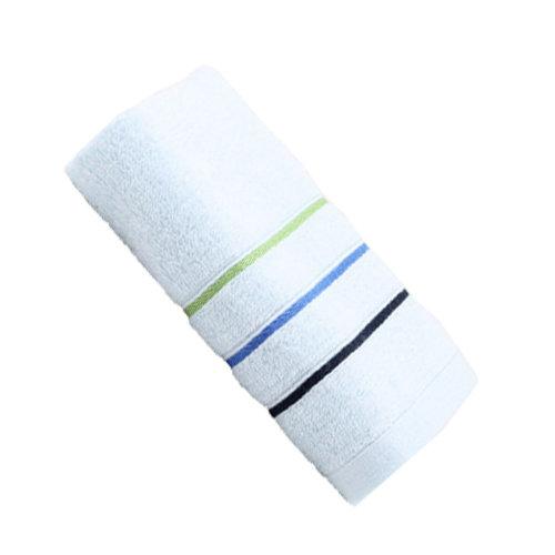 Grace Strong Absorbency Cotton Soft Facecloth Towel Bath Towel,Blue