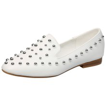 Glynis Womens Flat Slip On Studded Loafers
