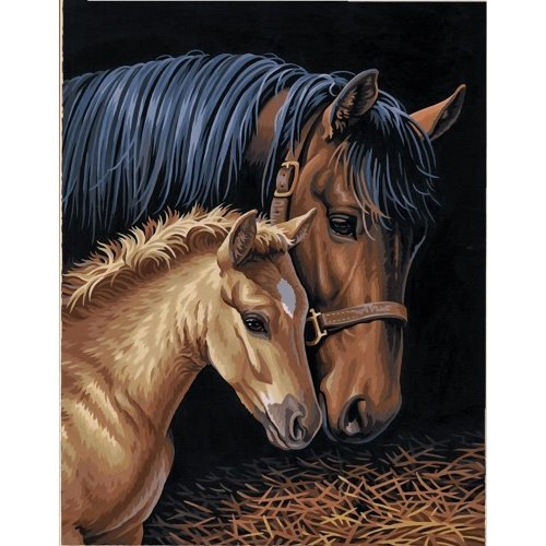 Dpw91438 - Paintsworks Paint by Numbers - Gentle Touch