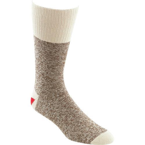 Fox River Red Heel Monkey Socks 2 Pairs-Size 8-9 Brown Heather